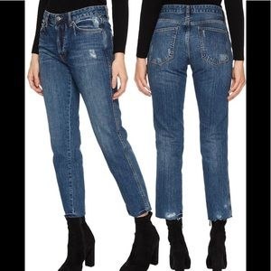 Free People slim boyfriend jeans 28